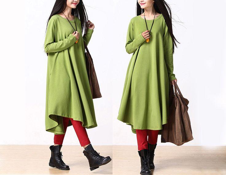Women Fall Irregular Long Dress Robe from MissJuan by DaWanda.com