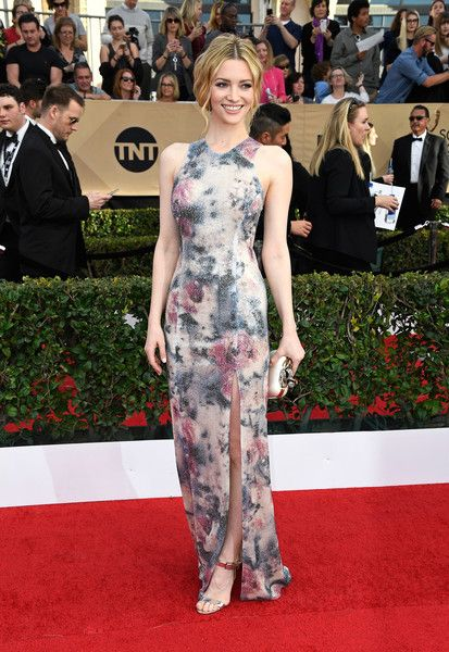 Talulah Riley in Galvan - Every Best Dressed Look from the 2017 SAG Awards  - Photos