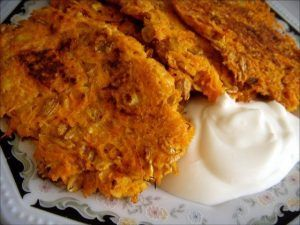 Lose weight. Carrot cakes with muesli
