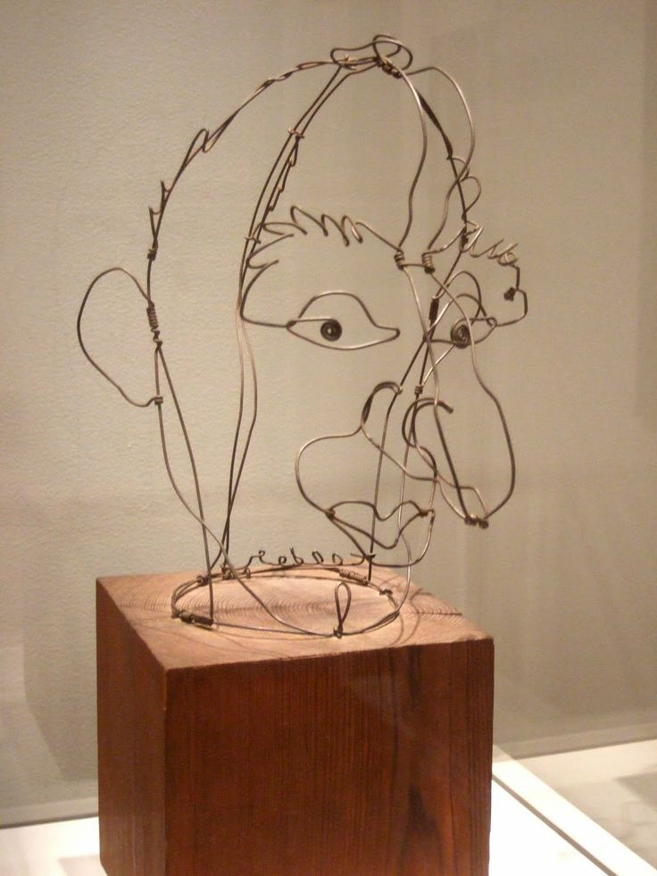 Jimmy Durante by Alexander Calder | art sketchbook ...