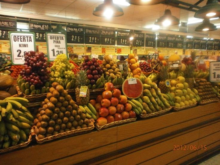 Fruteria Supermercados Mas de San Fernando (Cadiz).