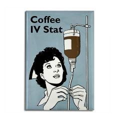 Coffee IV Stat > Funny Fridge Magnets > Cafe Pretzel T-Shirts & Gifts