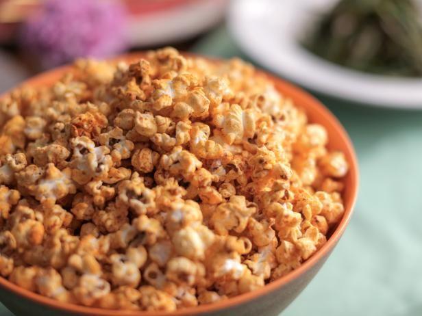 Sweet and Spicy Popcorn Recipe | Valerie Bertinelli | Food Network