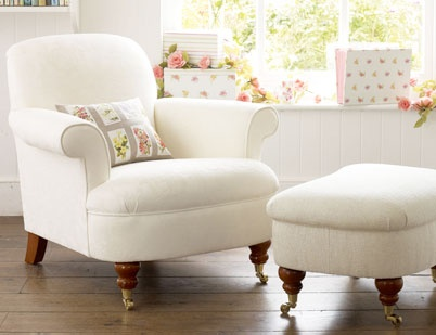 22 best images about lounge on pinterest fabric sofa shape and marks spencer - Laura ashley office chair ...
