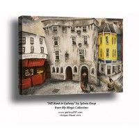 """'AIB Bank in Galway' by Sylwia Knop from My Magic Ireland Collection"""""""