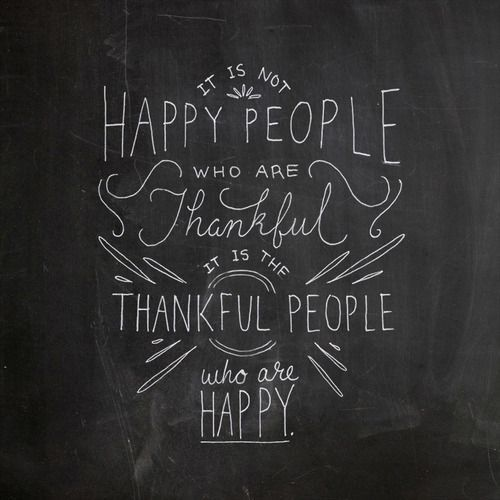 Happy & Thankful