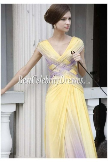 Celebrity Inspired Chic Prom Gown Evening Dress BCD80162 | BestCelebrityDresses