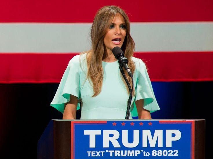 ¿Plagió Melania Trump el discurso de Michelle Obama?