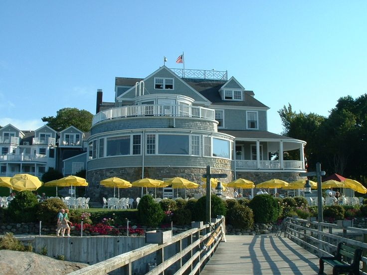 bar harbor me | The Bar Harbor Inn - A Bar Harbor institution and landmark for years ...