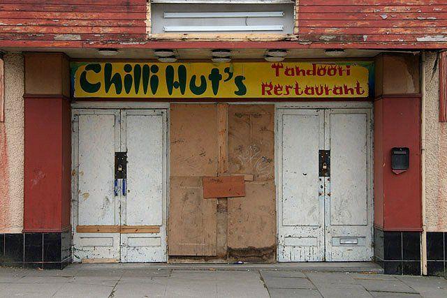 Chilli Hut's Tandoori Restaurant, Lockerbie. (2009) Picture: Walter Baxter