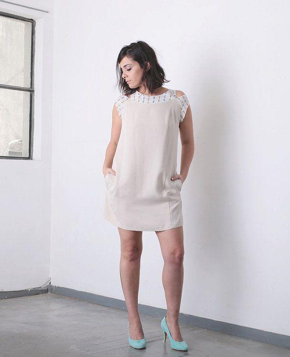 Estate vestito abito Oversize Cut-Out abito di DayOffDesign