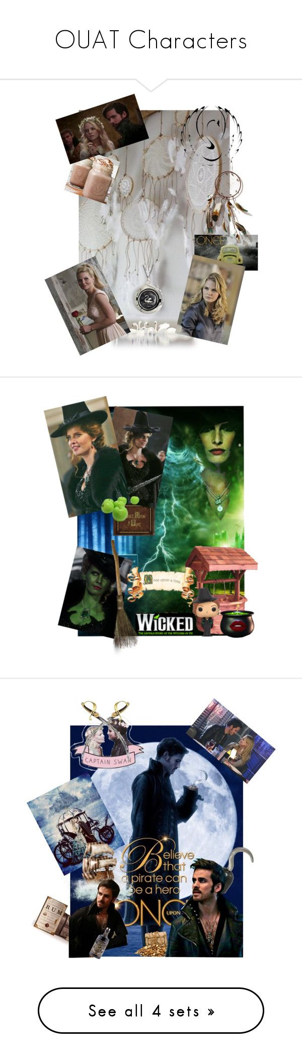 """""""OUAT Characters"""" by seyann on Polyvore featuring art"""