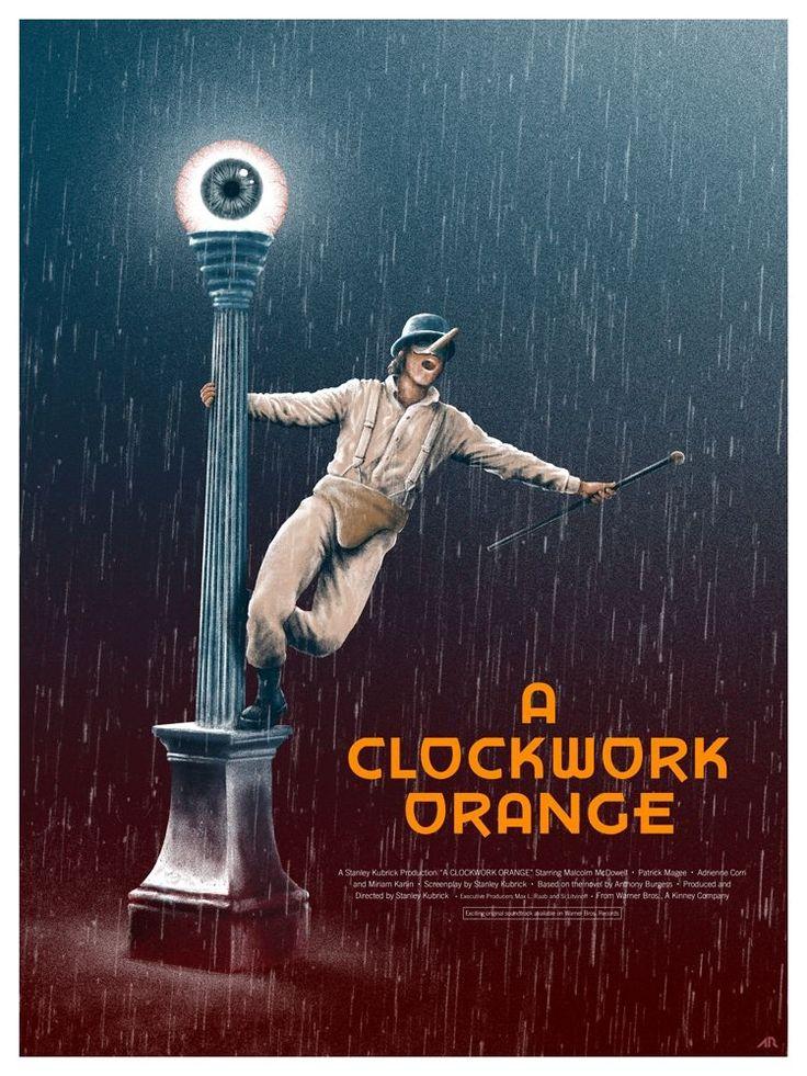Постер к фильму «A Clockwork Orange / Заводной апельсин (1971)» смотреть онлайн