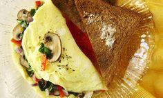 Tortilla de claras de huevo - Dr. Oz - Plan de salud - AARP en español