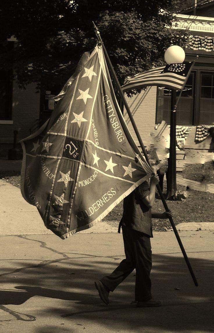 21 GA Flag Bearer