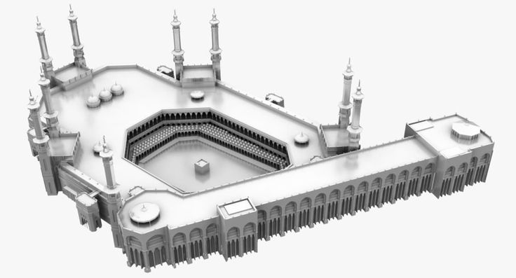 Masjid Al Haram Fbx - 3D Model