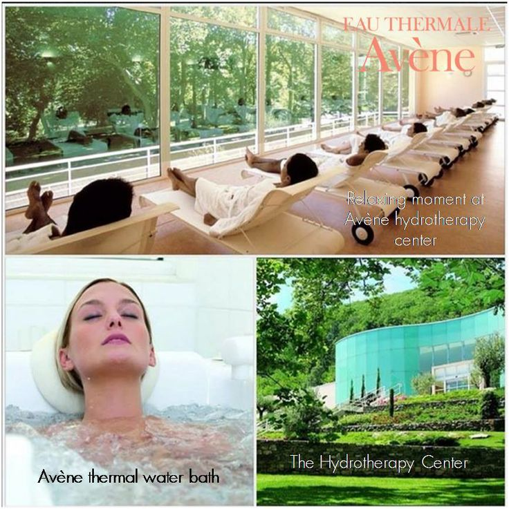 Avène Thermal Water based its legitimacy from the hydrotherapy center located in Avène , directly where the water comes.