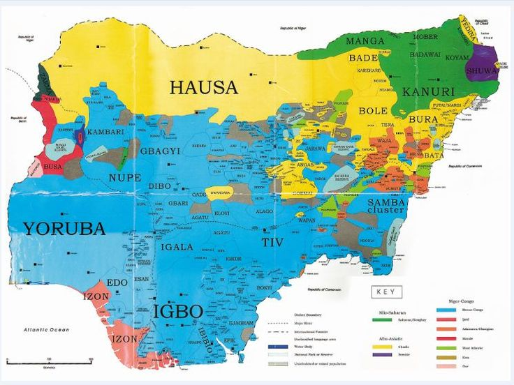 Photos: Maps of All 36 States In Nigeria Showing All Local Governments/Tribes & Languages – Daily Mail
