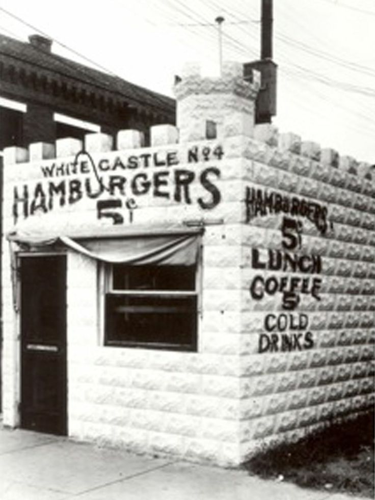 White Castle: The first White Castle location opened in 1921 in Wichita, making it the original American fast-food burger chain. Founder Bill Ingram used $700 to open the starting location and started serving the chain's signature sliders. The following year, the second White Castle opened in El Dorado, Kan., and by 1924, Ingram expanded the chain to Omaha and Kansas City, Mo.