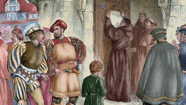 On this day in History, Martin Luther posts 95 theses on Oct 31, 1517. Learn more about what happened today on History.
