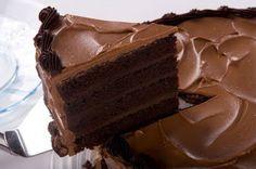 Bolo mousse aerado de chocolate (Sodie) - Receita