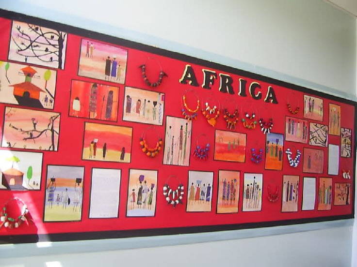 African Art classroom display photo - Photo gallery - SparkleBox