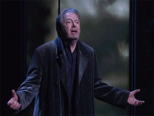 Roger Allam as King Lear. Shakespeare Live! 4/23/16