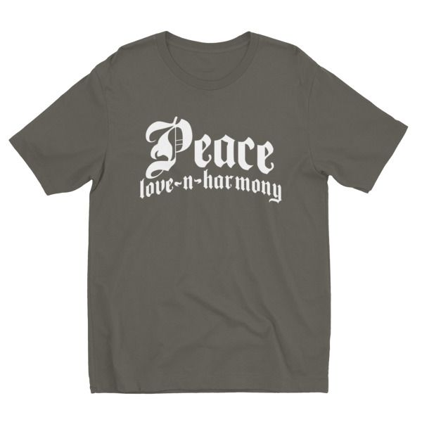 Peace… (Mens Variant 2) – I Define Design