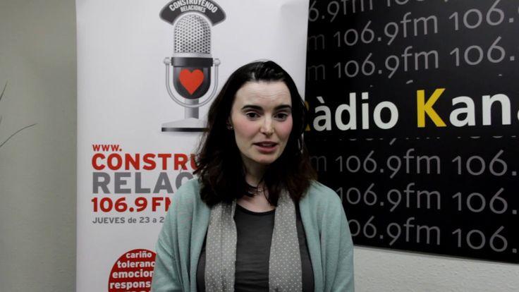 Construyendo Relaciones Radio con Gloria Sánchez, psicóloga en l'Institut de Psicologia Espasa.