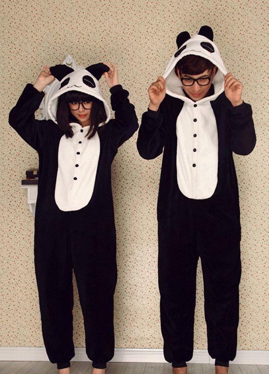 Animal Costume Panda Adult Onesie Pajamas