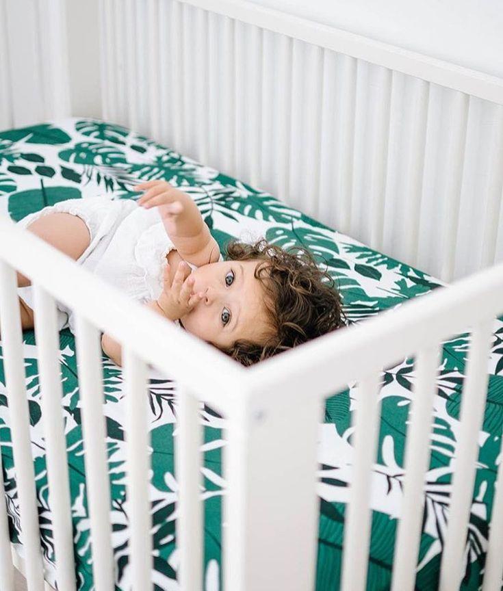 NEW Tropical Crib Sheets!  spearmintLOVE.com