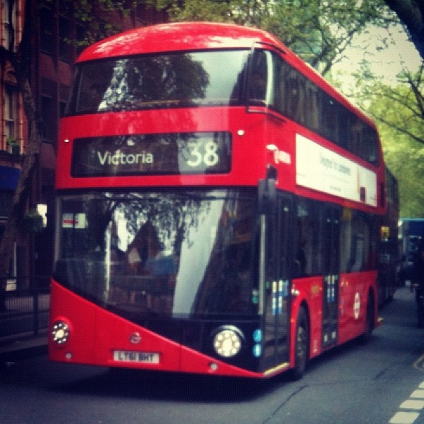 London's new Routemaster Bus by @toodlepip