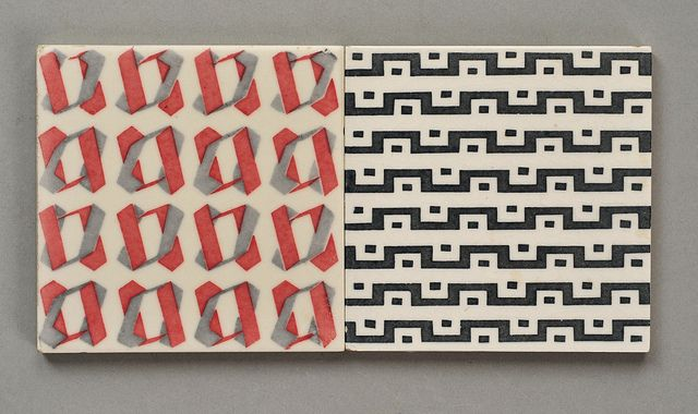Carter tiles, 1950's by robmcrorie, via Flickr