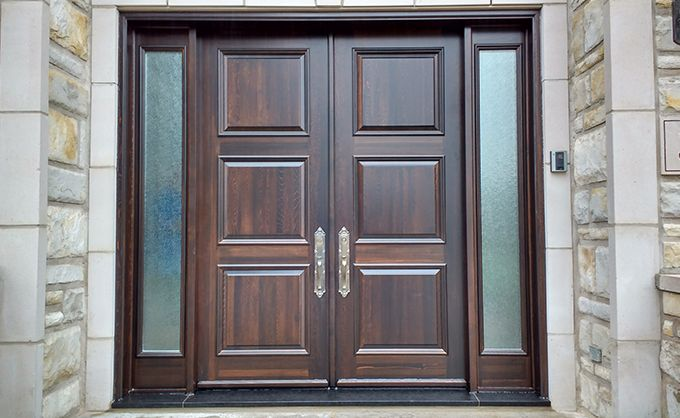 Wooden Front door by Bourassa Doors