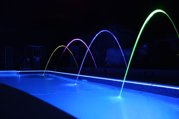 Pool Lighting Ideas | outdoortheme.com