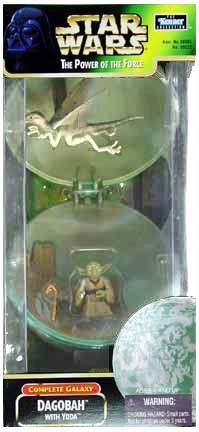 POTF2 Dagobah with Yoda [Complete Galaxy] C-7/8