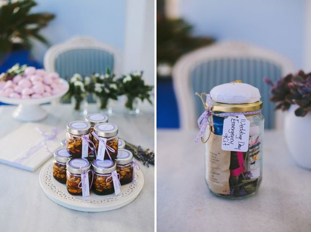 Wedding Favor in a Jar - Lavender Inspired Wedding By Stella And Moscha, Photo by Thanos Asfis