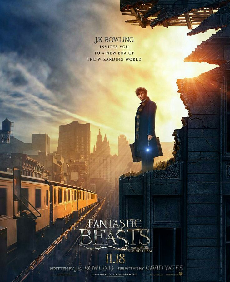 New Fantastic Beasts and Where to Find Them movie poster!!