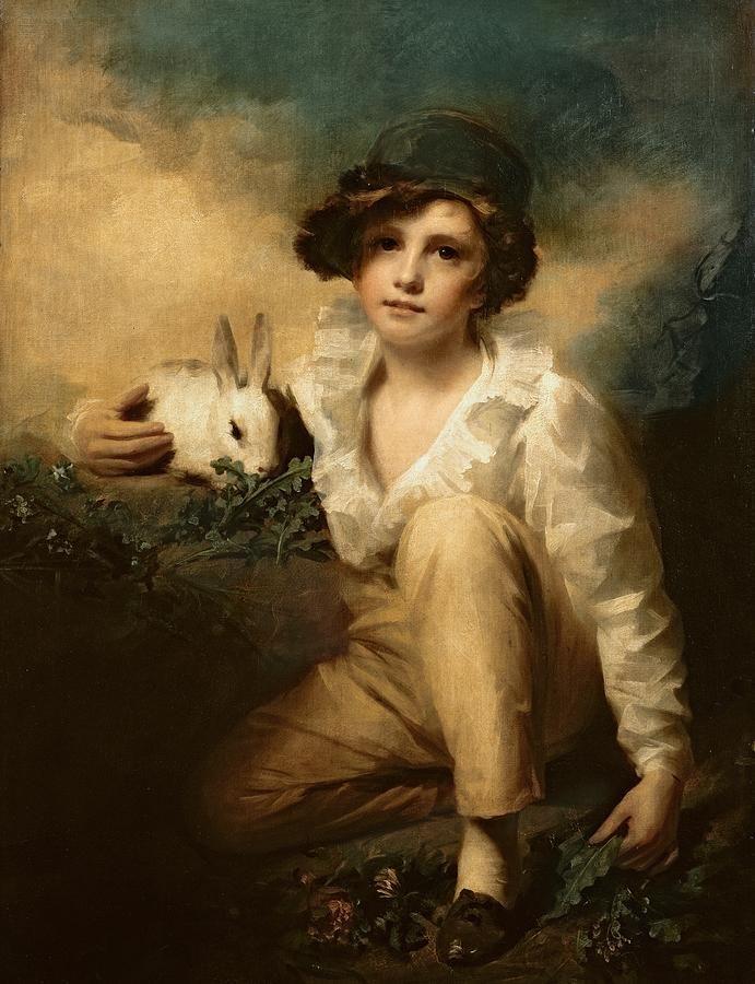 boy-and-rabbit-sir-henry-raeburn.jpg (691×900)
