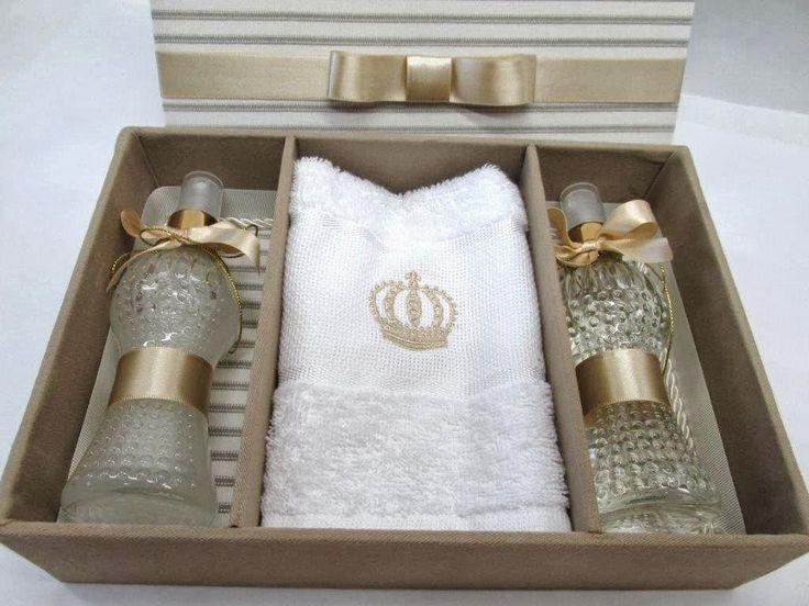 Divina Caixa: Caixa Kit Lavabo - Lembrança Padrinhos de Casamento
