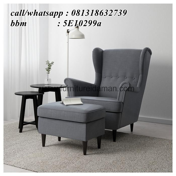 Kursi Sofa Ibu Menyusui Model Wings-Kursi Sofayang di buat khusus untuk para ibu ibu menyusui dan tempat santai sambil membaca buku.kursi sofa