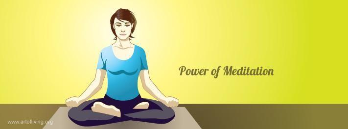 Power of #Meditation!