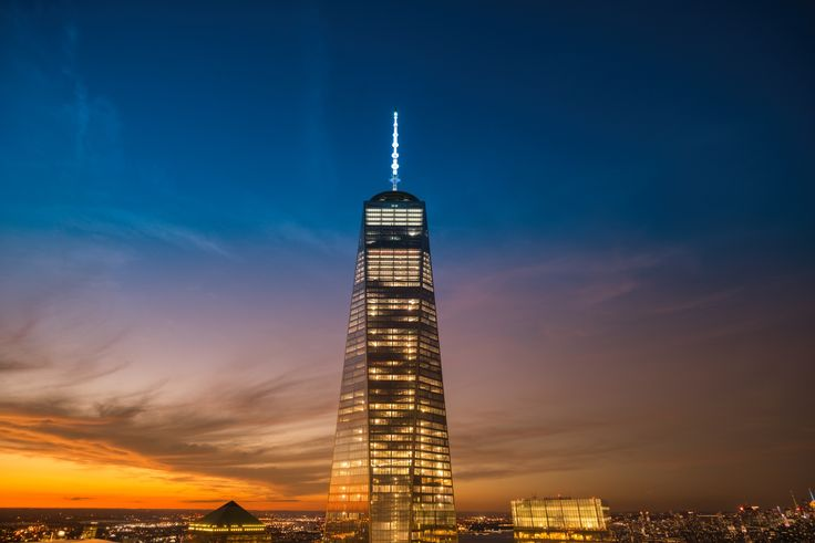 Photograph New York City - 1 World Trade Center - Sunset by Vivienne Gucwa on 500px