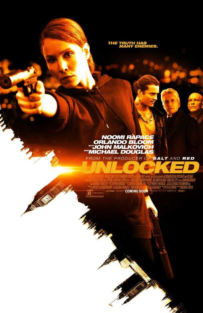 "Unlocked (2017)  is a story about  Previous CIA cross examiner Alice who is  hesitant to backpedal to her old employment in light of her inability to ""open"" a suspect which murdered many blameless individuals. Get online movies free download in hd without any registration."