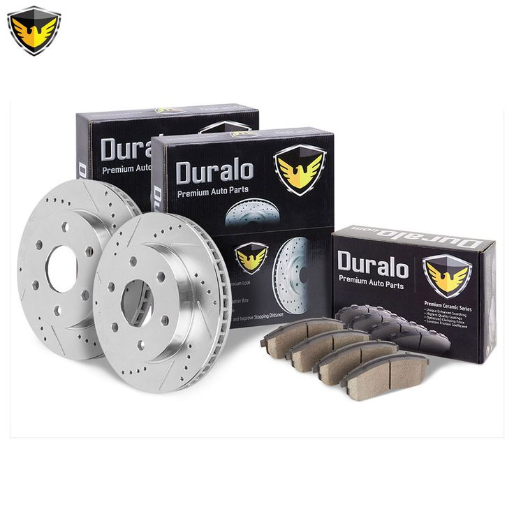 New 2000 Toyota 4 Runner Brake Pad and Rotor Kit - Front: 2000 Toyota 4 Runner Brake Pad and Rotor… #AutoParts #CarParts #Cars #Automobiles