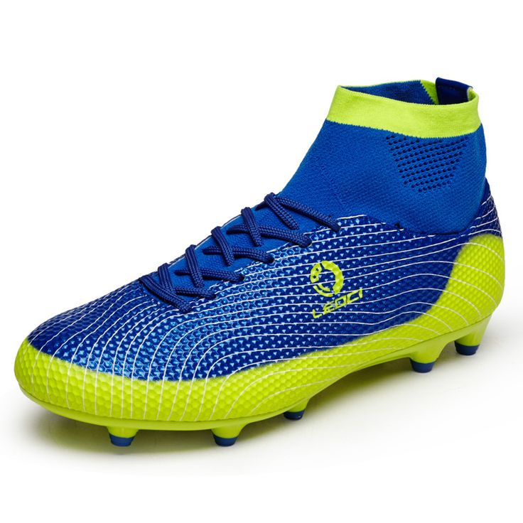 High Ankle Soccer Boots Men and Kids Football Shoes Boys FG Soccer Cleats Shoes With Socks Athletic Training Sports Shoes 33-45