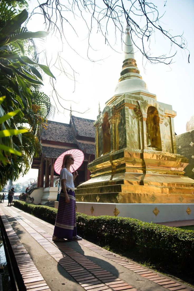 Having a travel blog is the best thing in the world when you get to visit places like this one. Wat Phra Sing in Chaing Mai, Thailand. Best place to visit.