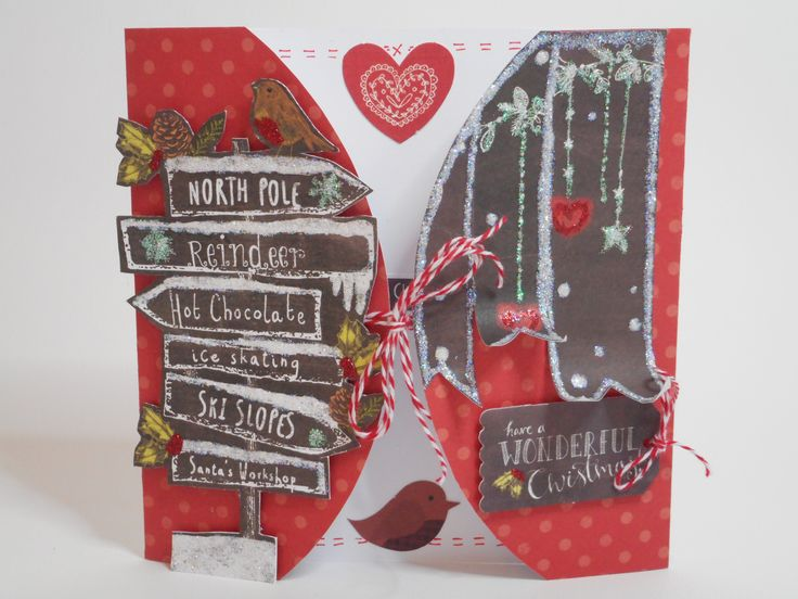 Tie-Up Card by Phillipa Lewis.