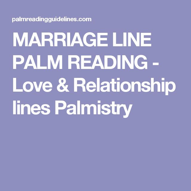 hand reading relationship lines