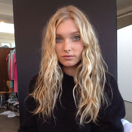 Elsa Hosk Elsa Hair Perfect Blonde Hair Elsa Hosk